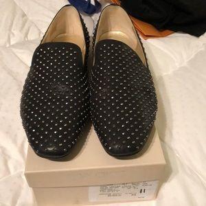 Jimmy Choo Studded Flats, size 41